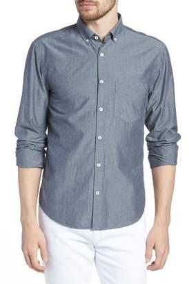 Billy Reid Kirby Long Sleeve Slim Fit Shirt