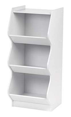 IRIS 3 Tier Curved Edge Storage Shelf