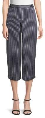 J.o.a. Striped Cropped Pants