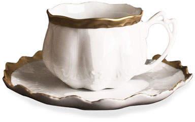 Anna Weatherley Golden Patina Teacup & Saucer