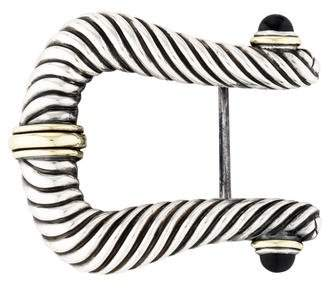 David Yurman Sterling Belt Buckle
