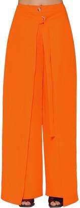 Aalto Paneled Linen Bland Wide Leg Pants