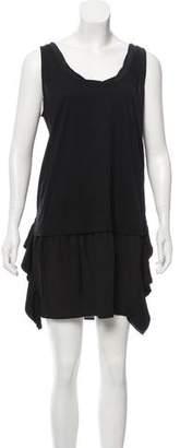 Miu Miu Silk Mini Shift Dress