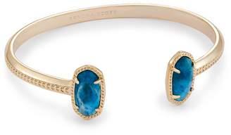 Kendra Scott Elton Pinch Bracelet in Aqua Apatite