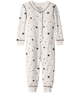 PJ Salvage Kids Dream Mix Star Peachy Romper (Infant)