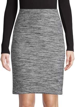 Karl Lagerfeld Paris Tweed Pencil Skirt