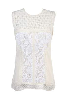 J. Mendel J.Mendel J.mendel Ecru Cotton Top for Women