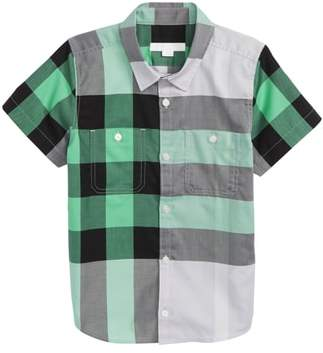 Burberry Camber Check Shirt
