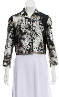 Prada Silk Cropped Jacket