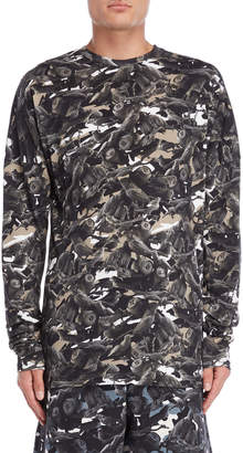 This Is Not Clothing Birds of Paradise Camo Long Sleeve Tee