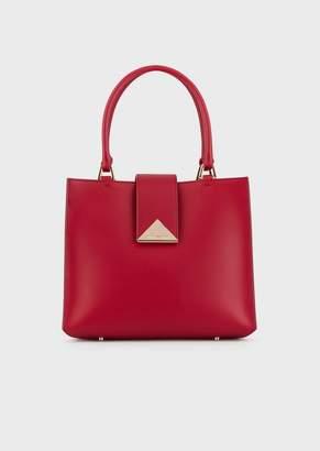 Emporio Armani Vachetta Leather Handbag