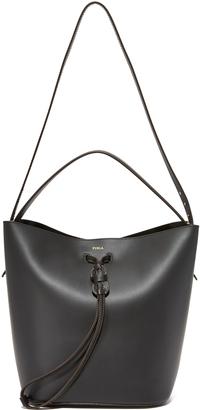 Furla Vittoria Medium Drawstring Bag $378 thestylecure.com