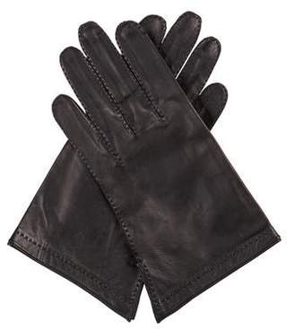 Hermes Leather Short Gloves