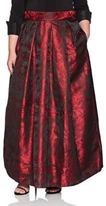 Jessica Howard JessicaHoward Women's Plus Size Separate Ballgown Skirt