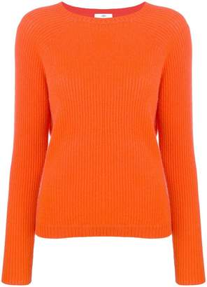 Allude ribbed jumper