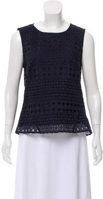 Whistles Sleeveless Pattern Top