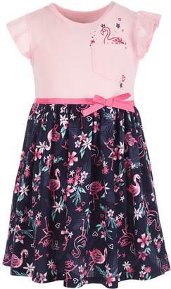 52a74dca2e67 Epic Threads Little Girls Flamingo-Print Dress