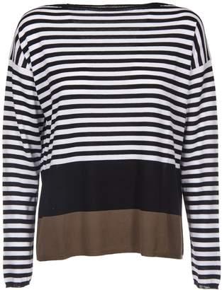 Kangra Cashmere Striped Sweatshirt