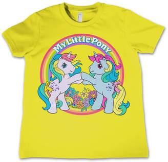fd0208cbcee4 My Little Pony T Shirt Best Friend Rainbow Logo Official Kids New 3-12Yrs  Size