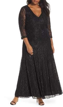 fd2214c3db8fa Pisarro Nights Beaded Lace Evening Dress with Bolero