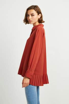 French Connenction Crepe Light Pleat Shirt