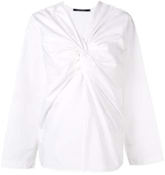 Sofie D'hoore Breeze knot-detailed blouse
