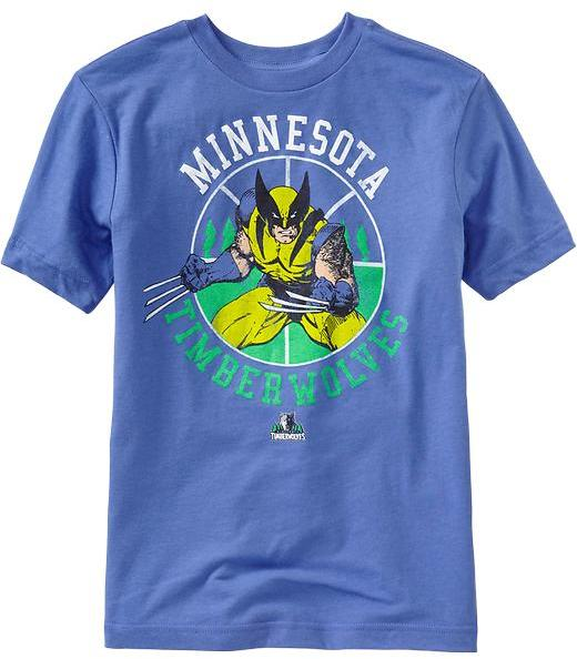 Old Navy Boys NBA® Marvel™ Licensed Graphic Tees