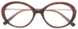 Max Mara classic round glasses