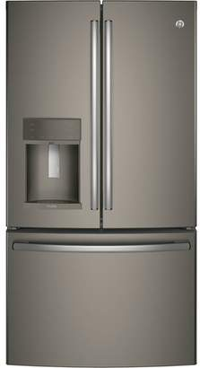 GE 22.2 cu. ft. Energy Star Counter Depth French Door Refrigerator with Hands-free Autofill