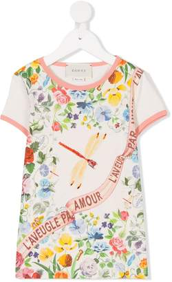 Gucci Kids spring printed T-shirt