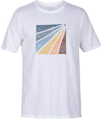 Hurley Men's Prism Burt Enzyme Graphic T-Shirt
