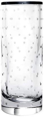 "Kate Spade 10"" Larabee Dot Cylinder Vase"