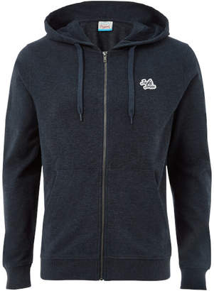 Jack and Jones Originals Men's New Lights Zip Through Hoody - Total Eclipse Marl