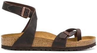 Birkenstock toe-strap buckle sandals