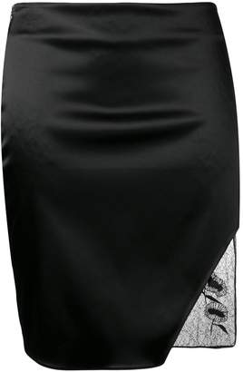 Alyx fitted lace detailed skirt