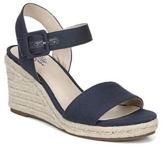 5c3e4d82ab10 LifeStride SHOES Tango Espadrille Wedge Sandal - Wide Width Available