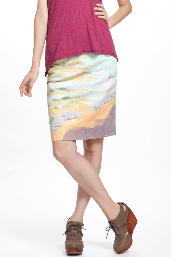 Anthropologie Terrain Pencil Skirt