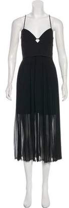 Nicholas Pleated Midi Dress