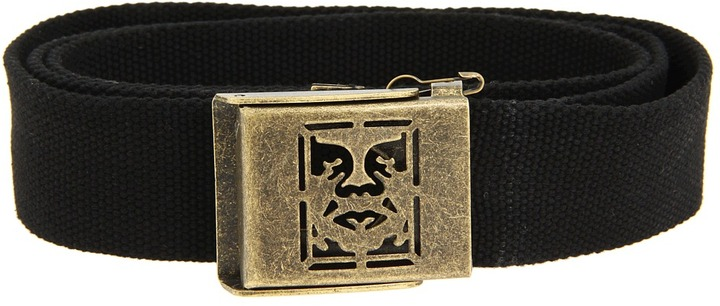 Obey Icon Web Belt (Black) - Apparel
