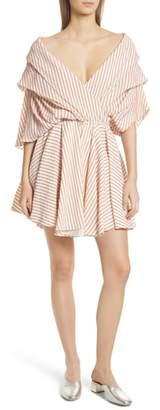 Caroline Constas Marcella Stripe Dress