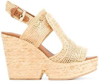 Clergerie Dypaille wicker sandals