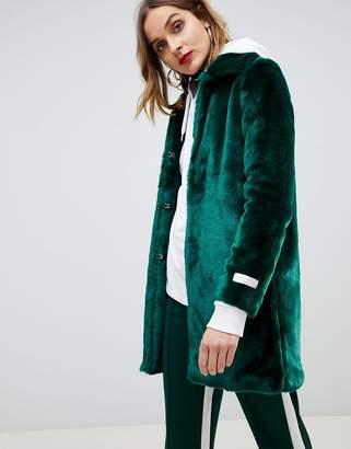 Gianni Feraud faux fur coat