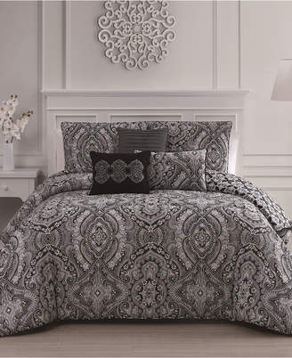 Geneva Home Fashion Kari 6-Pc Queen Comforter Set Bedding
