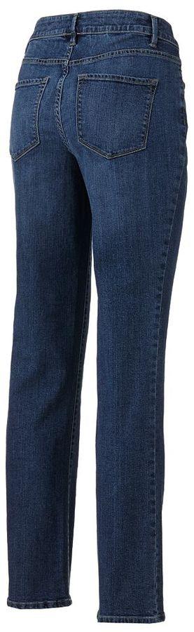 Sonoma life + style ® modern fit straight-leg jeans - women's