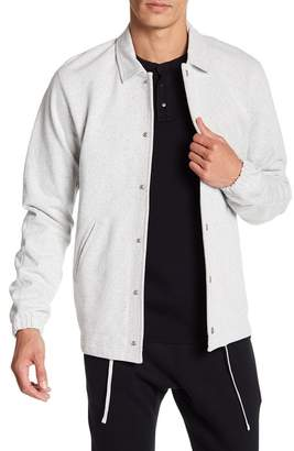 Reigning Champ Heavyweight Coach Button Down Jacket