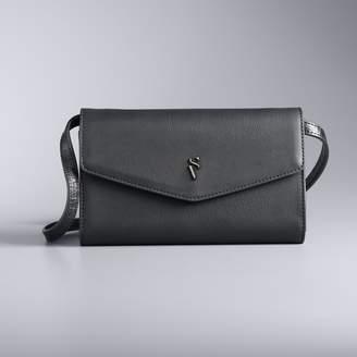 Vera Wang Simply Vera Signature Mini Crossbody Bag