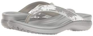 Crocs Capri V Sequin Women's Sandals