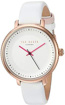 Ted Baker Women's 'ISLA' Quartz Stainless Steel and Leather Dress Watch