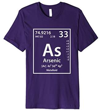 Arsenic Periodic Table of Elements T-Shirt