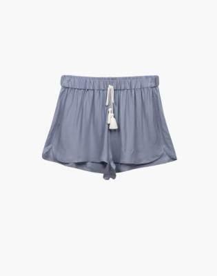 Madewell Negative Supreme Sleep Shorts Pajama Set